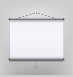 creative of empty meeting vector image
