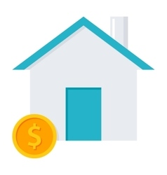 Home loan concept vector