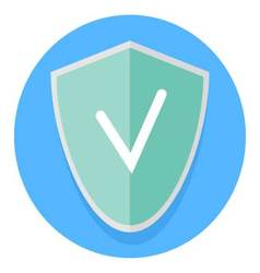 Icon antivirus application vector