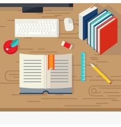 School Books Design vector