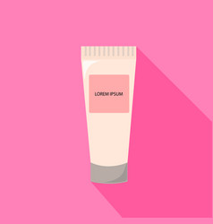 Tube of cream from beauty salon vector