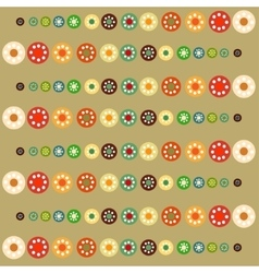 Bright circles baby background vector