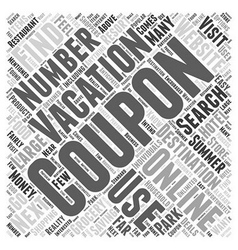 Online Coupons Saving You Money on Your Next vector image vector image