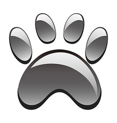 paw print vector image
