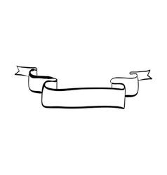 label icon ribbon design graphic vector image