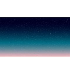 Star Sky vector image