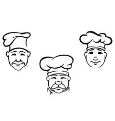 Cookers anf chefs vector image