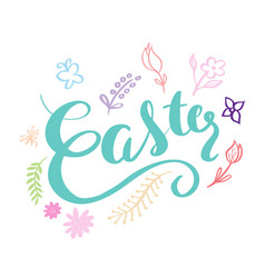 easter day card vector image