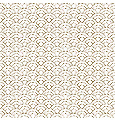 japanese wave dotted traditional seamless vector image