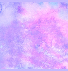 Pink watercolor texture background for design vector