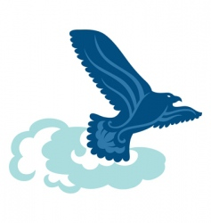 free eagle vector image vector image