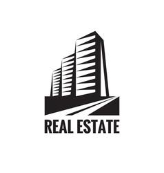 Real Estate - logo concept design vector image