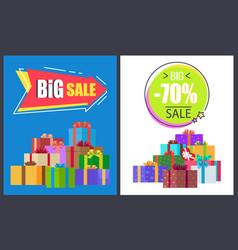 Big total sale - 70 off super half price discounts vector