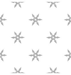 Metal shuriken icon cartoon single weapon icon vector