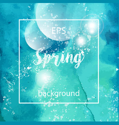 spring abstract texture background vector image vector image