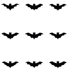 bat icon set vector image