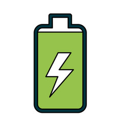 Battery power electric digital charge vector