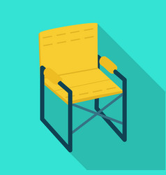 Isolated object chair and folding icon vector