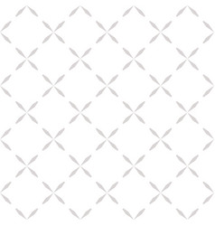 Minimalist seamless pattern with crosses vector