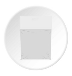Package icon circle vector