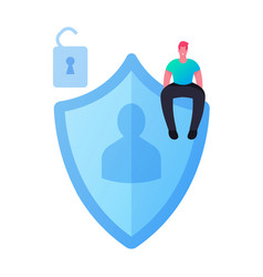 Personality verification secure account access vector
