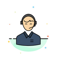Support business consulting customer man online vector