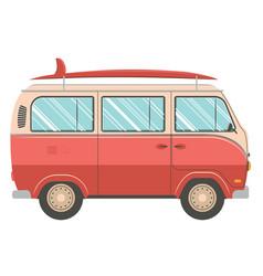 traveling van design vector image