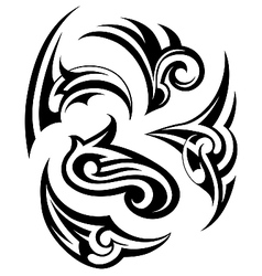 Tribal tattoo design set vector