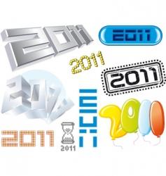 typography logos vector image