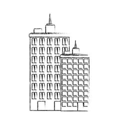 Urban city tower vector