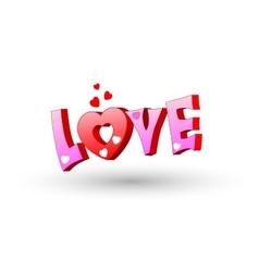 Graffiti urban art Love vector image