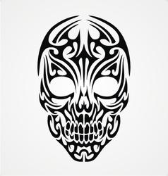 Tribal Skull vector image vector image