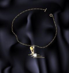 Bracelet note vector