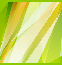green orange summer shiny stripes background vector image