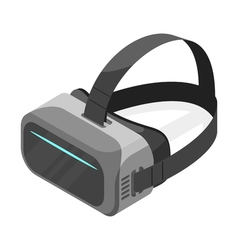 Isometric 3d of virtual reality glasses vector image