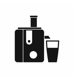 Juicer icon simple style vector