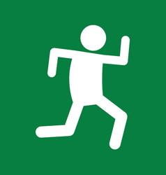 Marathon run sport figure symbol graphic vector