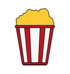Popcorn icon image vector