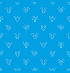 sign medicine pattern seamless blue vector image