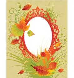 Thanksgiving frame vector image