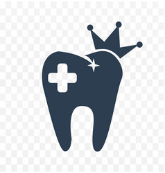dental clinic black and white vector image