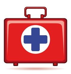 Medicine chest vector image