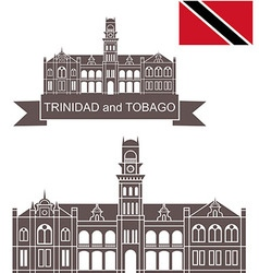 Trinidad and Tobago vector image