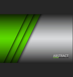 modern green abstract background overlay paper vector image