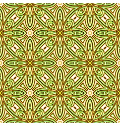 Bright green pattern vector image vector image