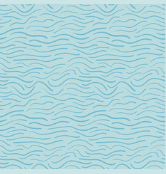 abstract waves trendy seamless pattern background vector image