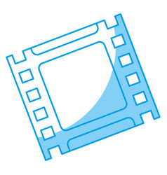 Cinema tape icon vector