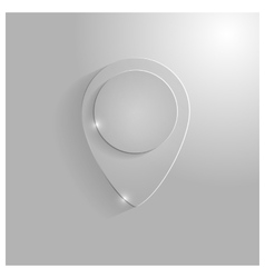Icon pointer map vector image