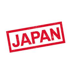 Japan rubber stamp vector