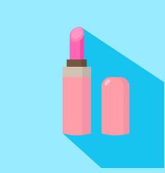 Lipstick cartoon isolated vector